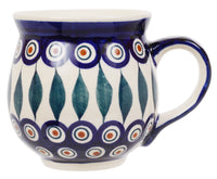 Large Belly Mug (Peacock)