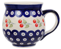Large Belly Mug (Cherry Dot) | K068T-70WI