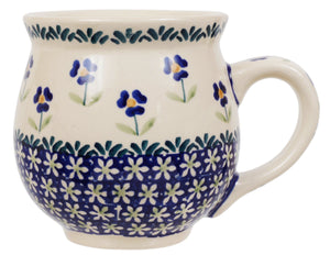 Large Belly Mug (Forget Me Not)