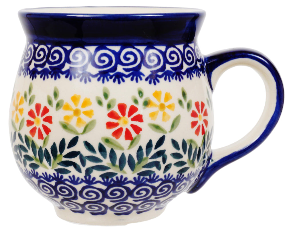 Large Belly Mug (Flower Power)