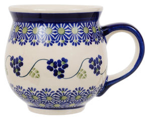 Large Belly Mug (Vineyard in Bloom)