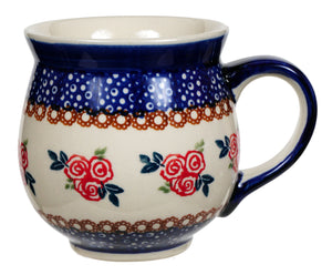 Large Belly Mug (Parade of Roses)