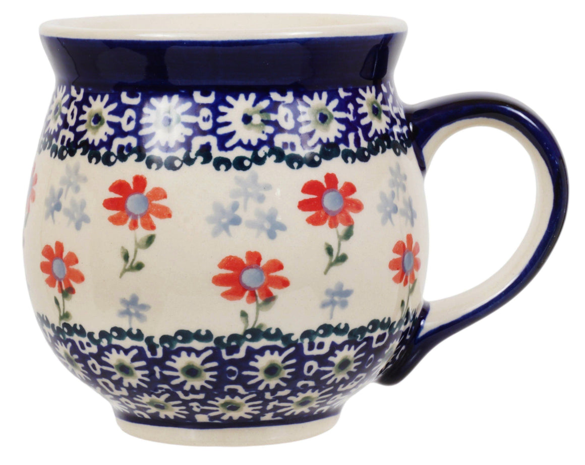 Large Belly Mug (Summer Blossoms)