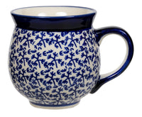 Large Belly Mug (Blue Thicket) | K068T-P364