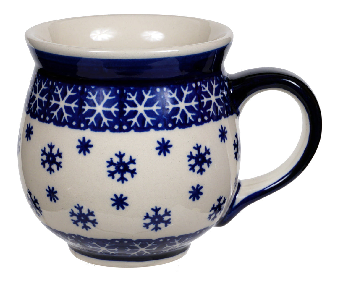 Large Belly Mug (Snow Drift)