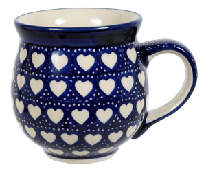 Large Belly Mug (Torrent of Hearts)