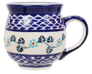 Large Belly Mug (Basket of Blue)