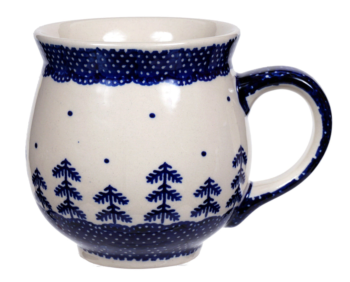 Large Belly Mug (Blue Fir)