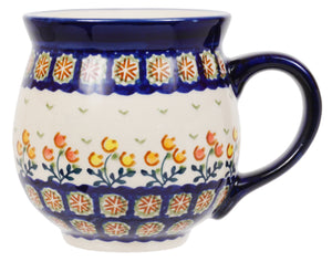 Large Belly Mug (Floral Spray)