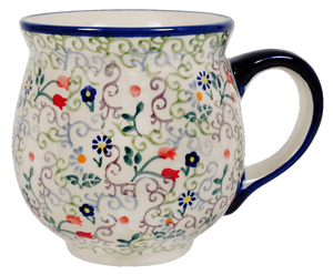 Large Belly Mug (Field of Flowers)