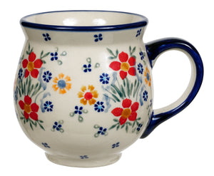 Large Belly Mug (Fresh Flowers)