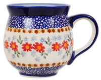 Large Belly Mug (Red Daisy Daze)