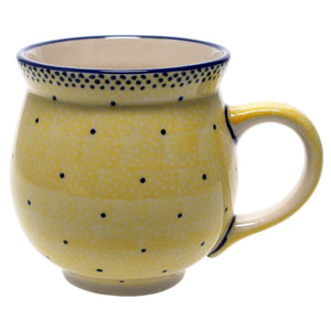 Large Belly Mug (Sunshine Blue Speckle)