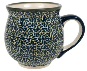 Large Belly Mug (Green Peace)