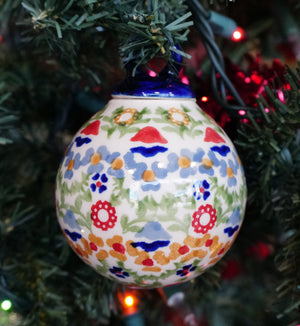 "2.75"" Ornament Ball (Mardi Gras)"