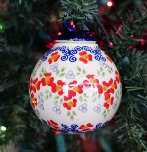 "2.75"" Ornament Ball (Ring Around the Rosie)"