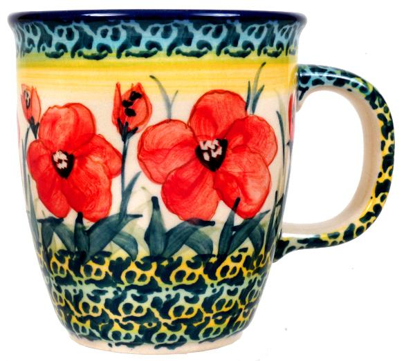 Mars Mug (Poppies in Bloom)