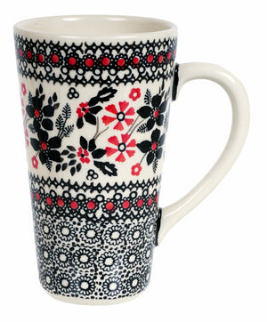 John's Mug (Duet in Black & Red)
