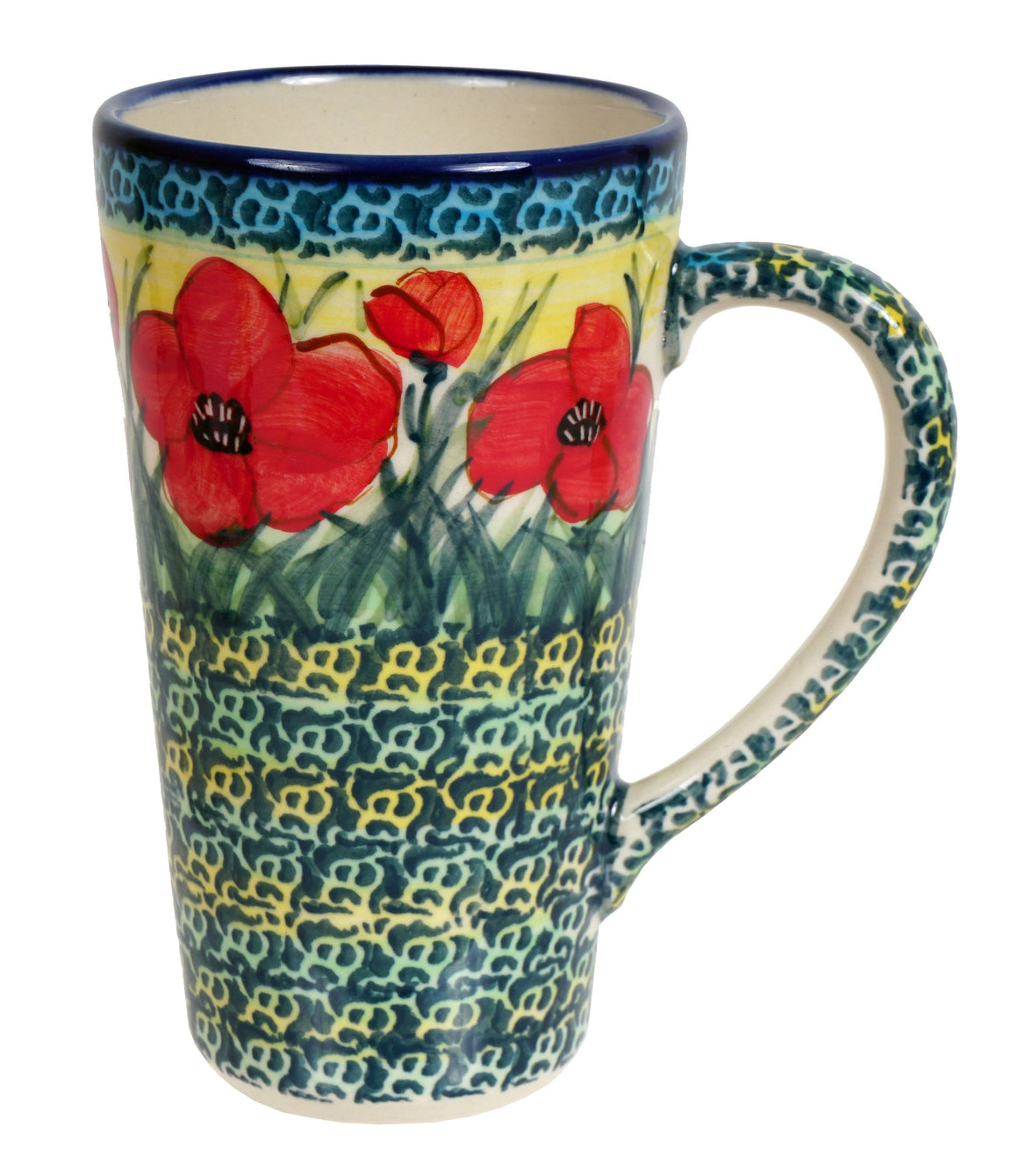 John's Mug (Poppies in Bloom)