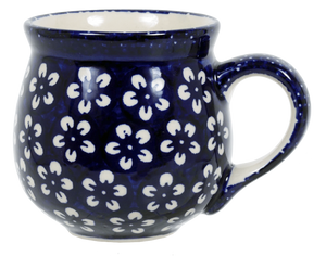 The Medium Belly Mug (Modern Blue)