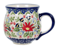 The Medium Belly Mug (Floral Fantasy)