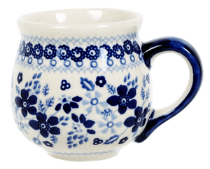 The Medium Belly Mug (Duet in Blue)
