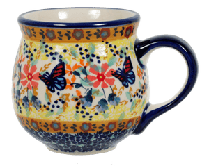 The Medium Belly Mug (Butterfly Bliss)
