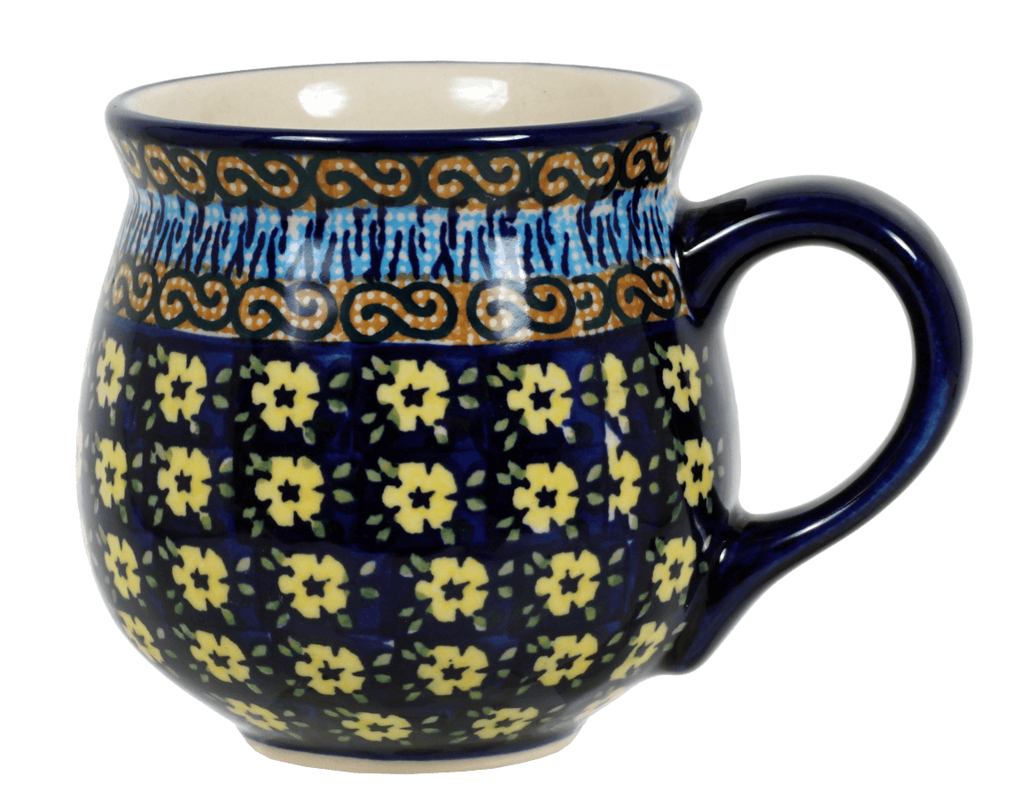 The Medium Belly Mug (Floral Formation)