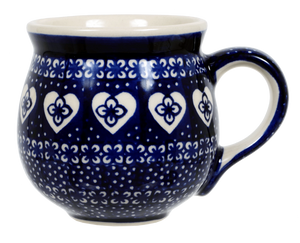 The Medium Belly Mug (Nordic Hearts)