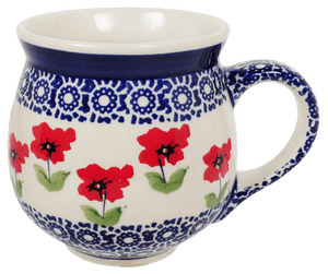 The Medium Belly Mug (Poppy Garden)