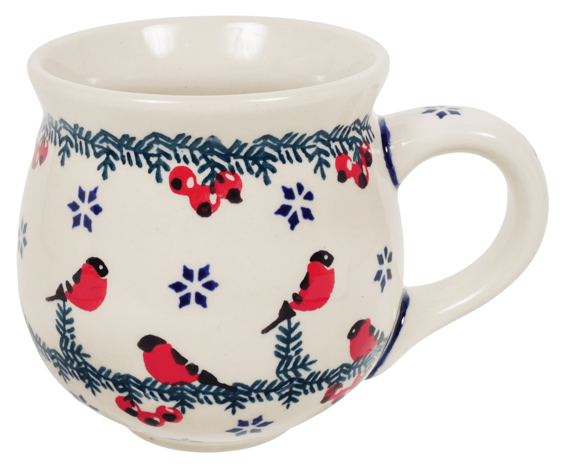 The Medium Belly Mug (Red Bird)