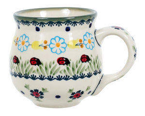 The Medium Belly Mug (Lady Bugs)