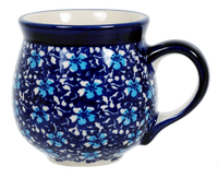 The Medium Belly Mug (Blue on Blue) | K090T-J109
