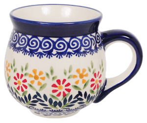 The Medium Belly Mug (Flower Power)
