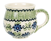 The Medium Belly Mug (Woven Blues)