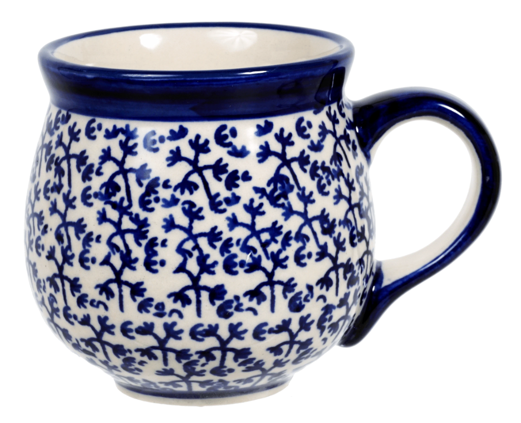 The Medium Belly Mug (Blue Thicket)