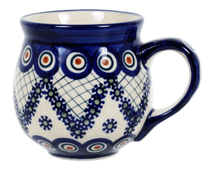The Medium Belly Mug (Fancy Peacock)