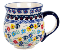 The Medium Belly Mug (Floral Swirl)