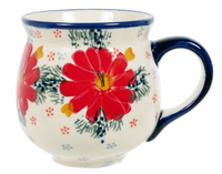 The Medium Belly Mug (Zinnia Zest)