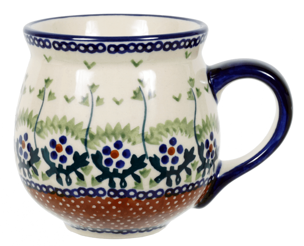 The Medium Belly Mug (Spring Meadow)