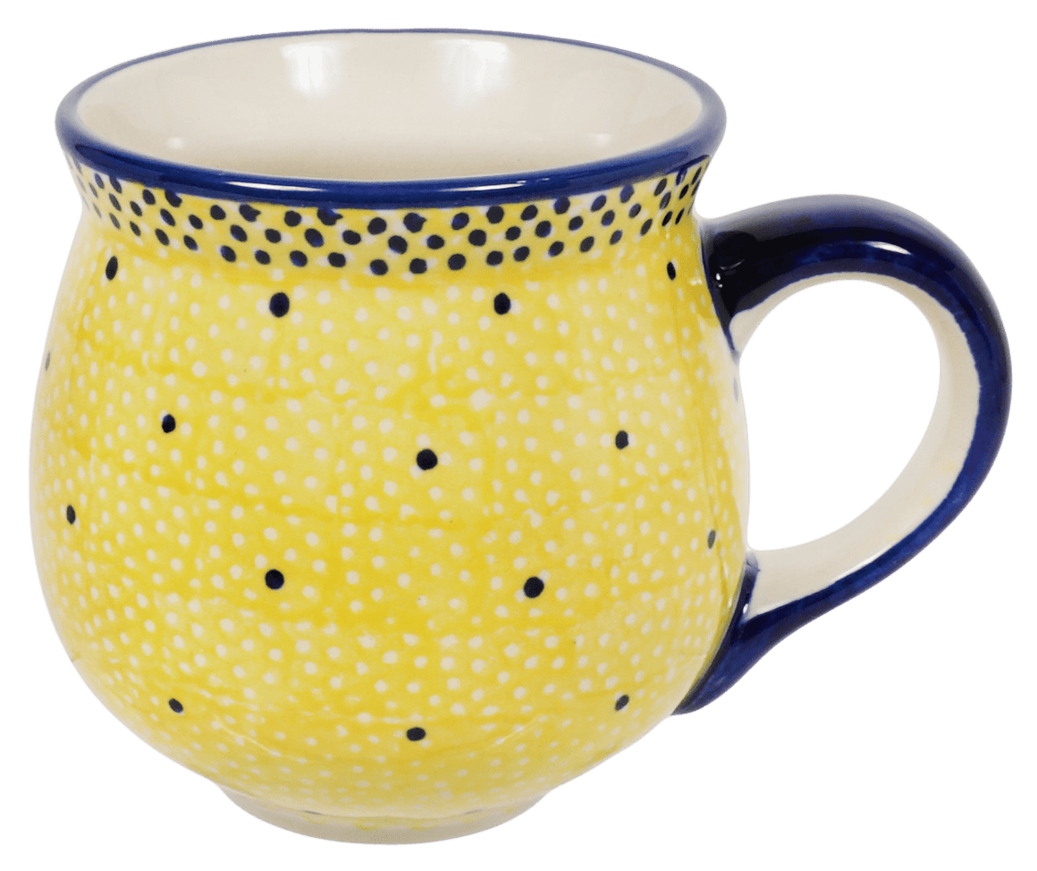 The Medium Belly Mug (Sunshine Blue Speckle)