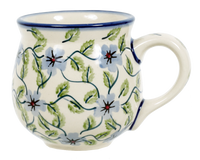 The Medium Belly Mug (Periwinkle Vine) | K090U-TAB1