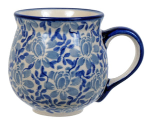 The Medium Belly Mug (English Blue)