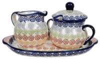 Cream and Sugar Set (Speckled Rainbow)