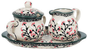 Cream and Sugar Set (Cherry Blossom)