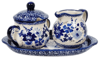 Cream and Sugar Set (Blue Life) | K091S-EO39