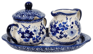 Cream and Sugar Set (Blue Life)
