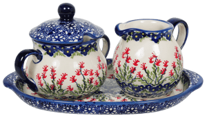 Cream and Sugar Set (Burning Thistle)