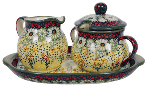 Cream and Sugar Set (Sunshine Grotto)