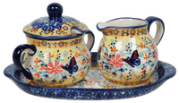 Cream and Sugar Set (Butterfly Bliss) | K091S-WK73